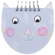 Shaped Chunky Notebook - Cat