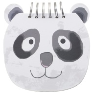 Shaped Chunky Notebook - Panda