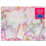 Fashion Sticky Note Set - Floral