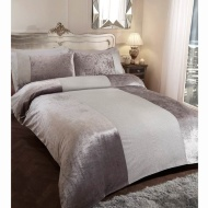 Karina Bailey Sparkle Double Duvet Set - Silver
