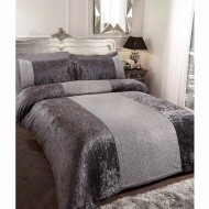Karina Bailey Sparkle King Duvet Set - Charcoal
