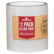 Clear Tape 2pk