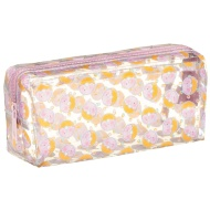 Clear Fashion Pencil Case - Donuts