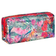 Clear Fashion Pencil Case - Floral