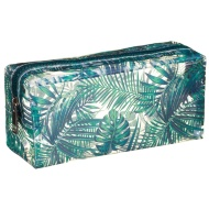 Clear Fashion Pencil Case - Leaves