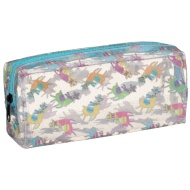 Fashion Pencil Case - Llamas