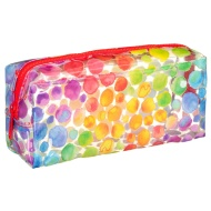 Clear Fashion Pencil Case - Watercolour Dots