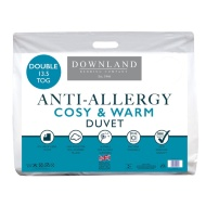 Downland Anti-Allergy 13.5 Tog Duvet - Double