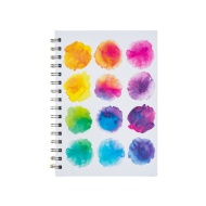 A5 Hardback Notebook - Watercolour Dots