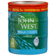 John West Tuna in Brine 3pk