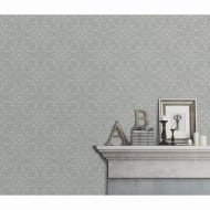 Sofia Wallpaper - Light Grey