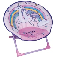 Foldable Unicorn Moon Chair