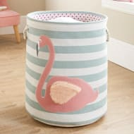 Kids 3D Laundry Hamper - Flamingo