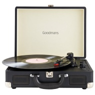 Goodmans Revive Bluetooth Turntable - Black