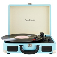Goodmans Revive Bluetooth Turntable - Blue