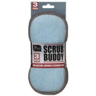 Scrub Buddy Cleaning Pad 3pk - Blue