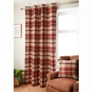 Oakland Check Curtain 46 x 54