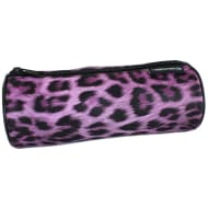 Printed Mix Pencil Case - Leopard