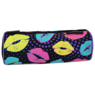 Printed Mix Pencil Case - Kisses