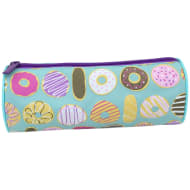 Printed Mix Pencil Case - Doughnuts & Cakes