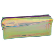 Iridescent Pencil Case - Clear