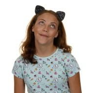 Ella Shaped Headband - Black Cat Ears