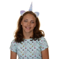 Ella Shaped Headband - Unicorn