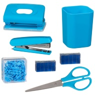 Desktop Stationery Set - Blue