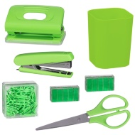 Desktop Stationery Set - Green