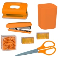 Desktop Stationery Set - Orange