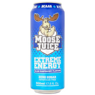 Moose Juice Extreme Energy 500ml - Blue Raspberry