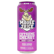 Moose Juice Extreme Energy 500ml - Berry