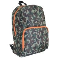 Camouflage Backpack - Green