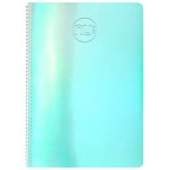 Nu Shine A4 Holographic Notebook - Blue