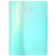 Nu Shine A5 Holographic Notebook - Blue