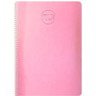 Nu Shine A5 Holographic Notebook - Pink