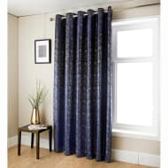Anastasia Metallic Velvet Curtain 66 x 72