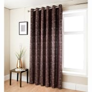 Anastasia Metallic Velvet Curtain 46 x 72