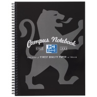 A4 Oxford Campus Notebook - Black