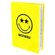 A5 Smiley World Plush Notebook