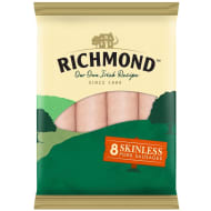 Richmond Skinless Sausages 213g