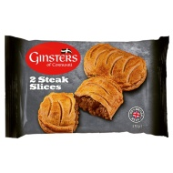 Ginsters Steak Slices 2pk
