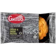 Ginsters Cheese & Onion Slices 2pk
