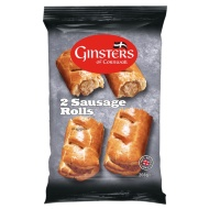 Ginsters Sausage Rolls 2pk