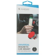 Goodmans Magnetic Phone Car Mount - Red