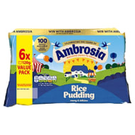 Ambrosia Rice Pudding 6 x 120g