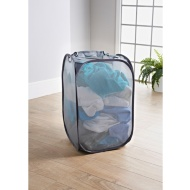 Addis 2-in-1 Pop-Up Laundry Hamper - Grey