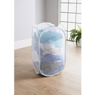 Addis 2-in-1 Pop-Up Laundry Hamper - White