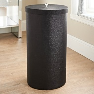 Sparkle Laundry Bin - Black