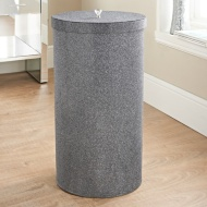 Sparkle Laundry Bin - Charcoal
